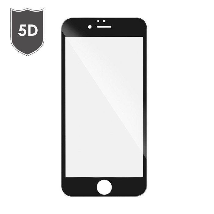 TEMPERED GLASS FULL FACE 5D ΓΙΑ IPHONE 6 / 6S PLUS ΜΑΥΡΟ | cooee.gr6
