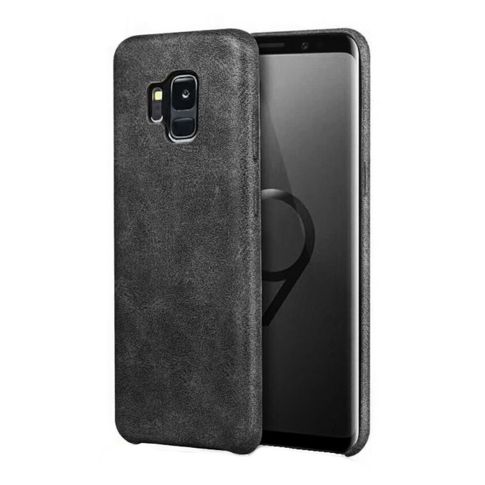 cooee ΘΗΚΗ TPU VINTAGE ΓΙΑ SAMSUNG GALAXY S9 PLUS ΜΑΥΡΟ | cooee.gr6
