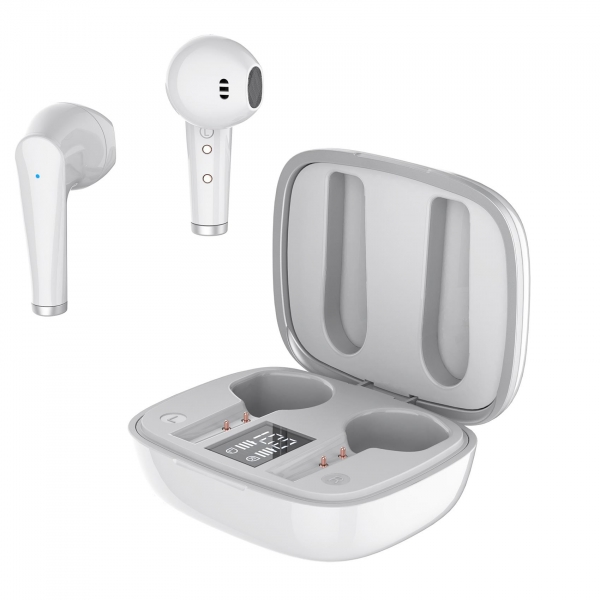CELLY BLUETOOTH TWS STEREO DROP FUZ HEADSET white | cooee.gr6