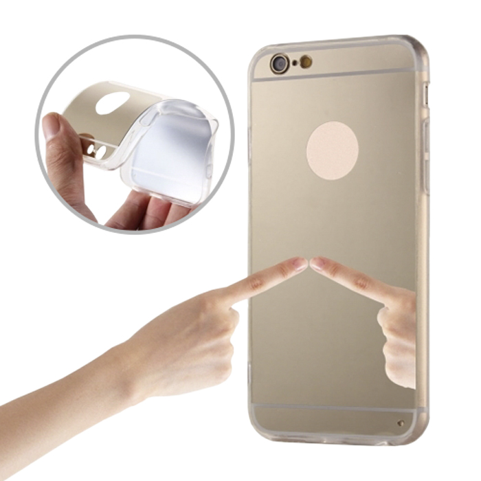 cooee ΘΗΚΗ MIRROR ΓΙΑ IPHONE 6 / 6S GOLD | cooee.gr6