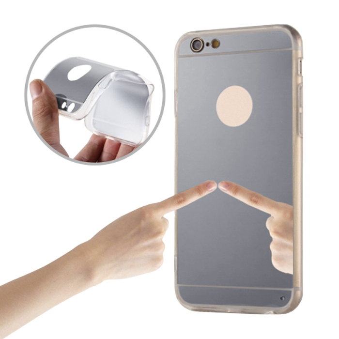 cooee ΘΗΚΗ MIRROR ΓΙΑ IPHONE 6 PLUS / 6S PLUS SILVER | cooee.gr6