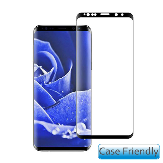 Evelatus Case Friendly Tempered Glass Full Cover για SAMSUNG GALAXY S8 PLUS μαύρο | cooee.gr6