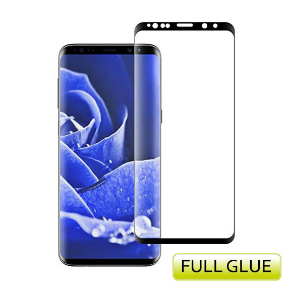 Evelatus Full Glue Tempered Glass Full Cover για SAMSUNG GALAXY S8 μαύρο | cooee.gr6