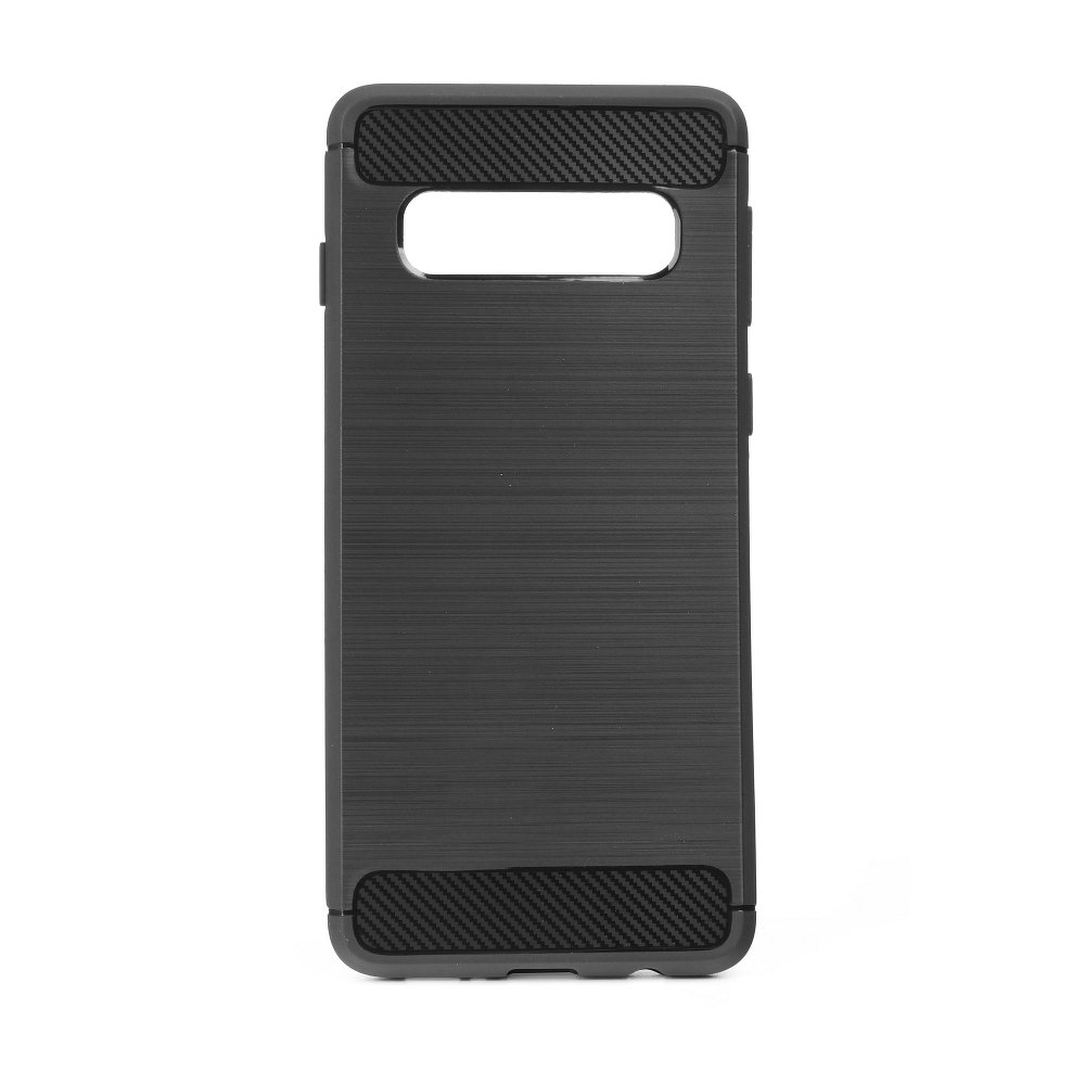 cooee ΘΗΚΗ TPU CARBON ΓΙΑ SAMSUNG GALAXY S10 PLUS ΜΑΥΡΟ | cooee.gr6
