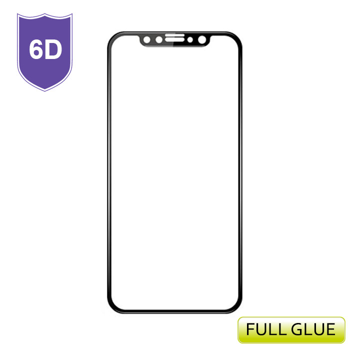 TEMPERED GLASS FULL GLUE 6D ΓΙΑ IPHONE XR 6.1inch ΜΑΥΡΟ | cooee.gr6