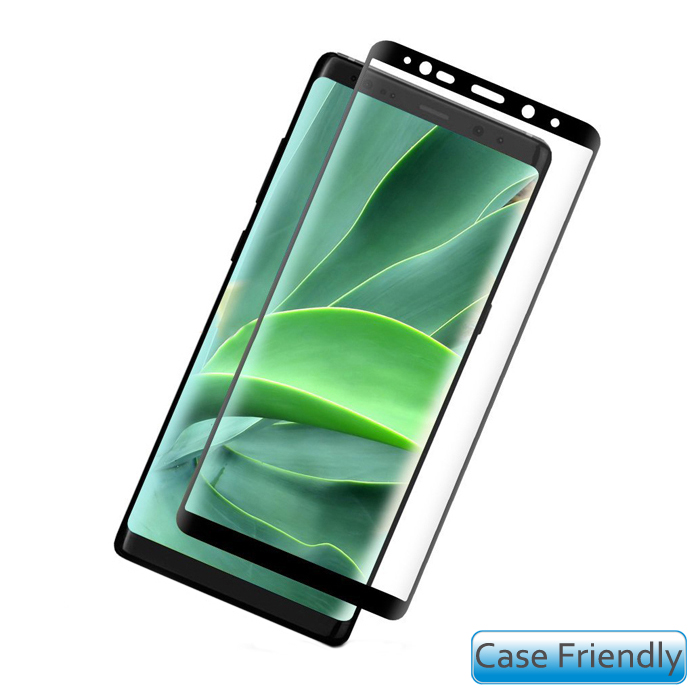 Evelatus Case Friendly Tempered Glass Full Cover για SAMSUNG GALAXY NOTE 9 μαύρο | cooee.gr6