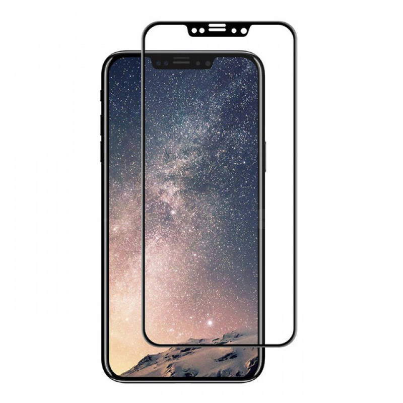 Evelatus ANTI-BROKEN Tempered Glass with Rubber Frame Full Cover για IPHONE XS Max / 11 PRO MAX 6.5 inches μαύρο | cooee.gr6
